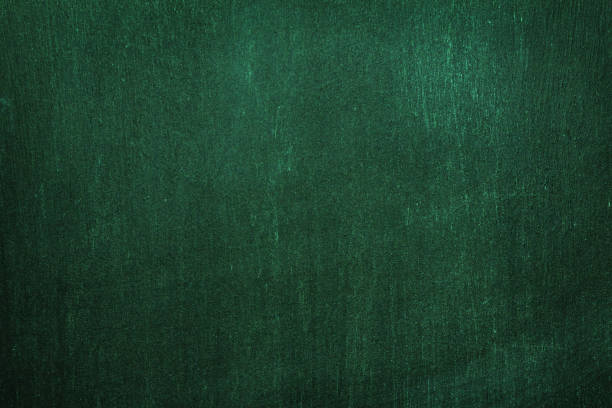Dark green wall texture in irish style. Background for text and decor. stock photo