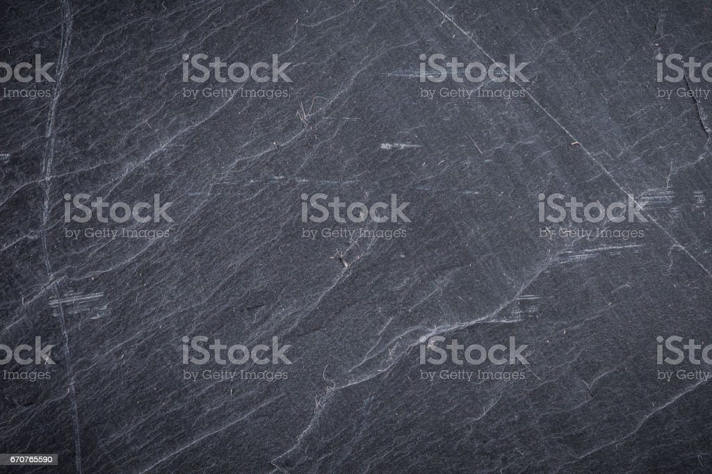 Dark grey and black slate background or texture - Photo