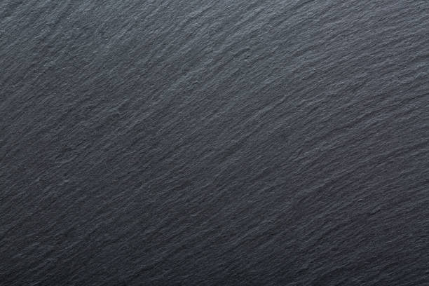 Dark Grey And Black Slate Granite Background Texture For Your Project Stock Photo