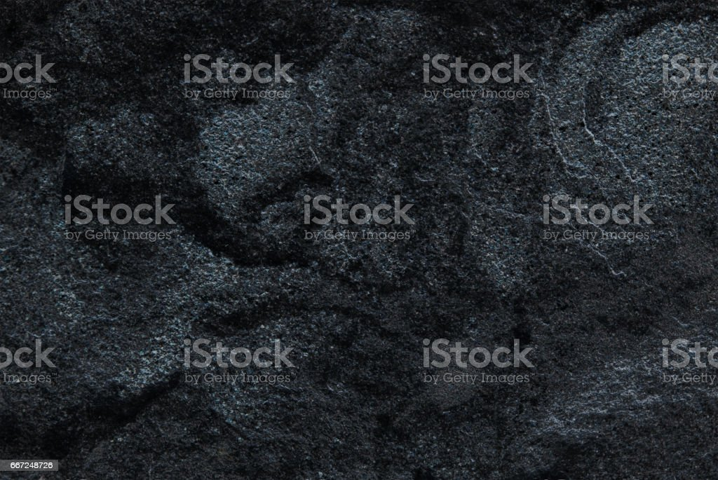 Dark grey black slate background or texture, Detailed of real genuine stone from nature stock photo