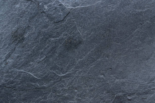 dark grey black slate  background or texture - slate rock stock photos and pictures