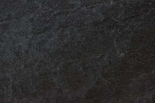 Zwarte Leisteen Donker Grijze Achtergrond Of Textuur Stockfoto en meer beelden van Abstract