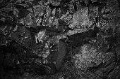 Dark grey black slate background or texture.Black slate background