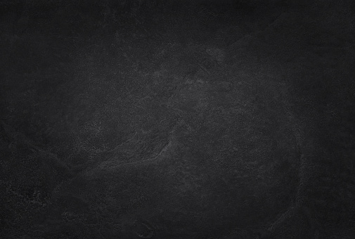 istock Dark grey black slate texture in natural pattern with high resolution for background and design art work. Black stone wall. 875240672