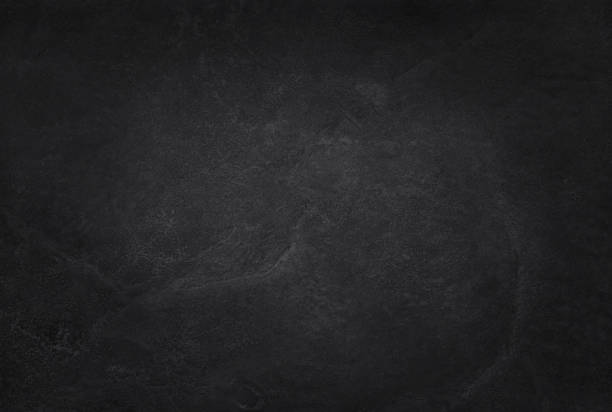 dark grey black slate texture in natural pattern with high resolution for background and design art work. black stone wall. - surface level stock photos and pictures