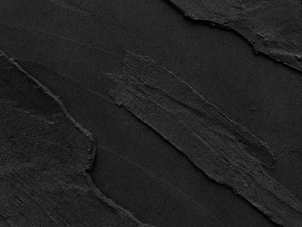 거친 배경으로 어두운 회색 블랙 슬레이트입니다. - 화장실 건축물 뉴스 사진 이미지