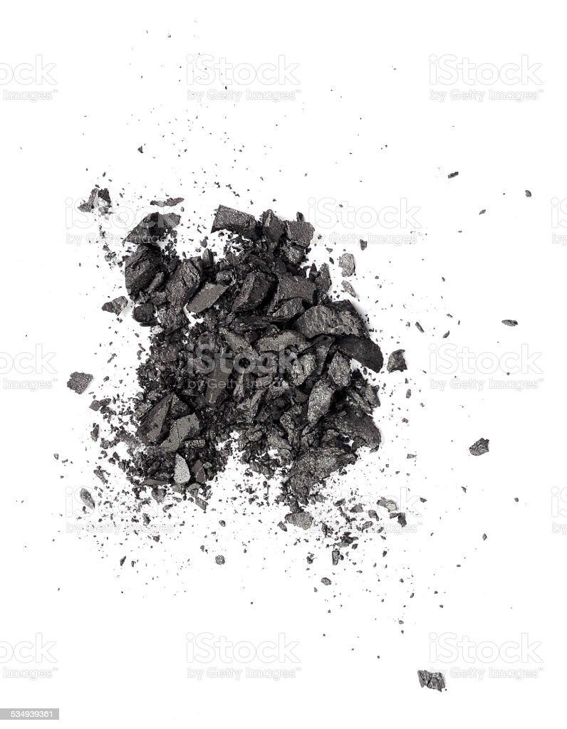 dark grey eyeshadow stock photo