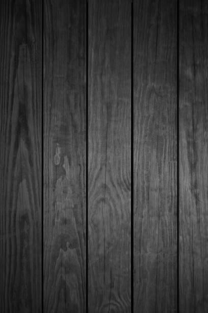 Dunkelgraue Holzbohlen Hintergrund – Foto