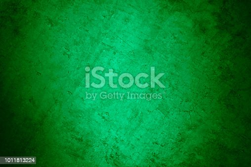 Dark grunge green concrete background