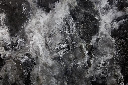 Dark grunge old wall for background