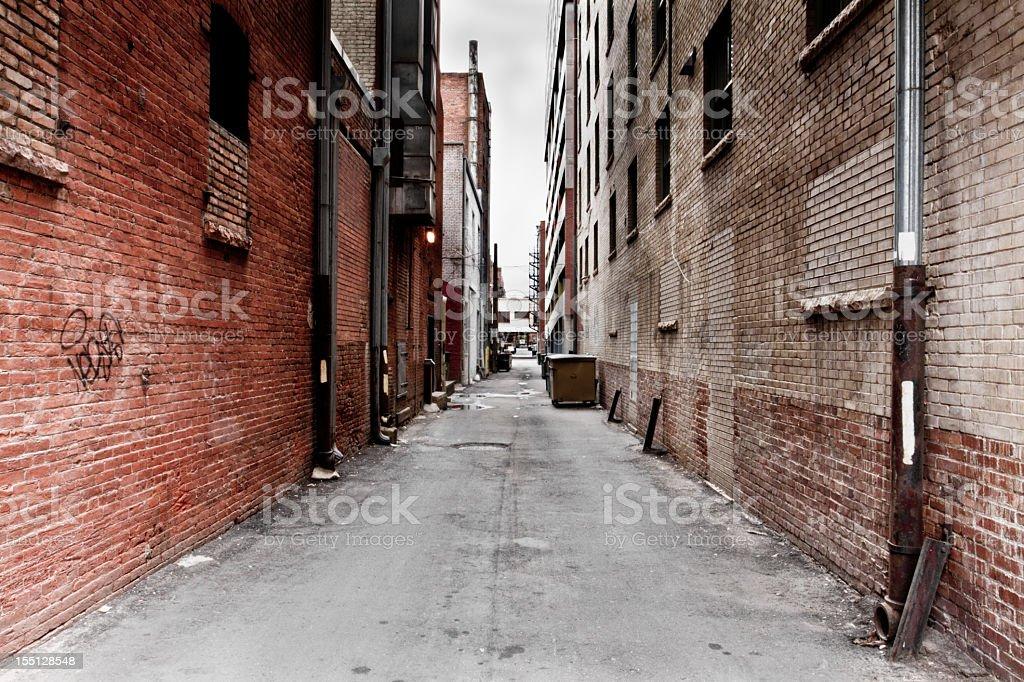 Dark Grungy Alley圖像檔