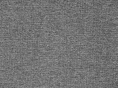 Dark heather gray polyester activewear knitted fabric