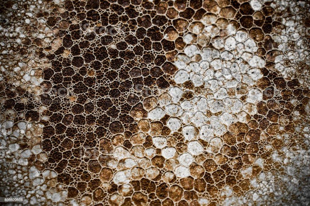 Dark hexagon texture stock photo