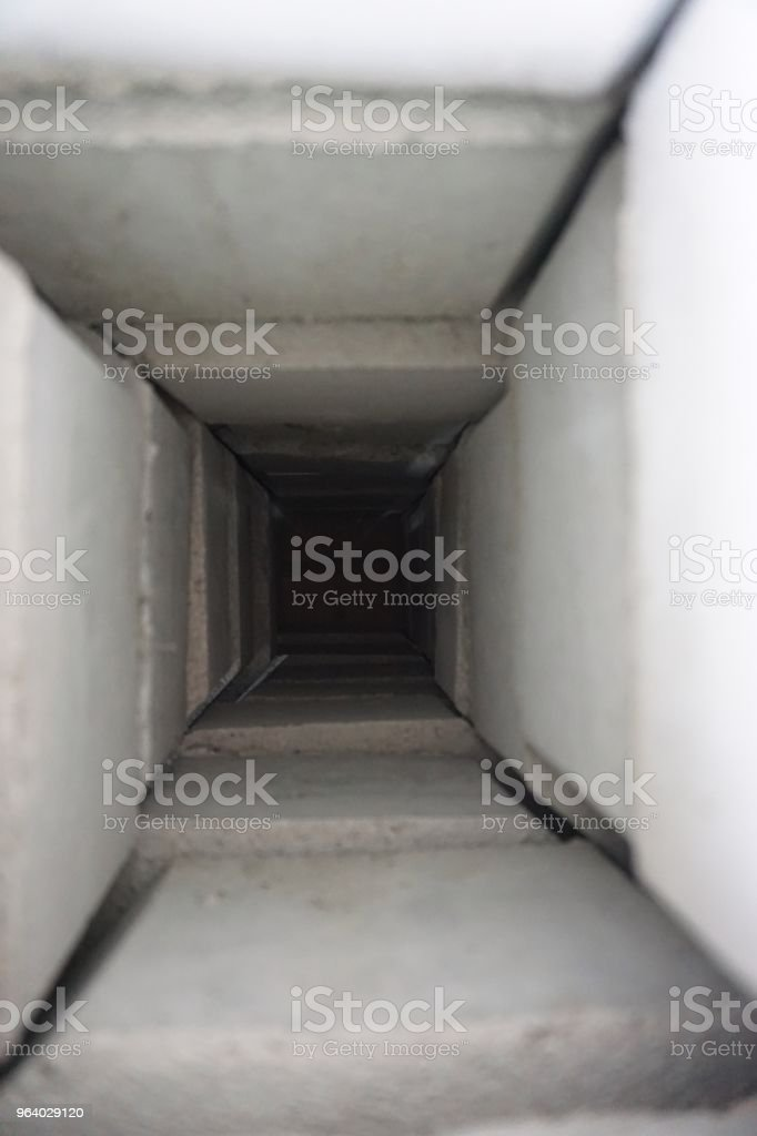 dark in the tunnel - Royalty-free Abandoned Stock Photo