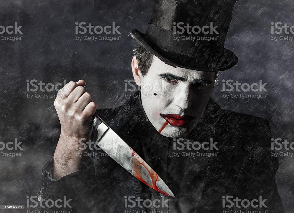 Dark killer royalty-free stock photo