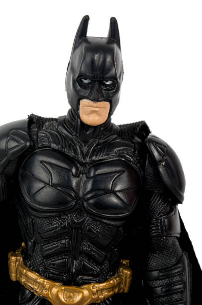 Dark Knight Action Figure stock photo