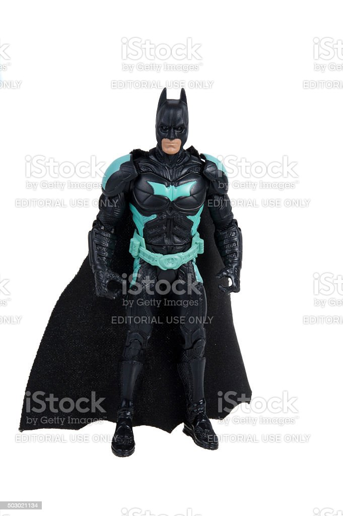 Dark Knight Action Figure stock photo