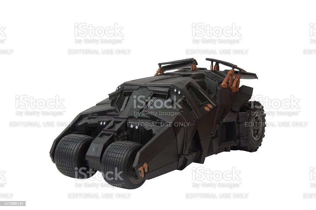Dark Knight Tumbler stock photo