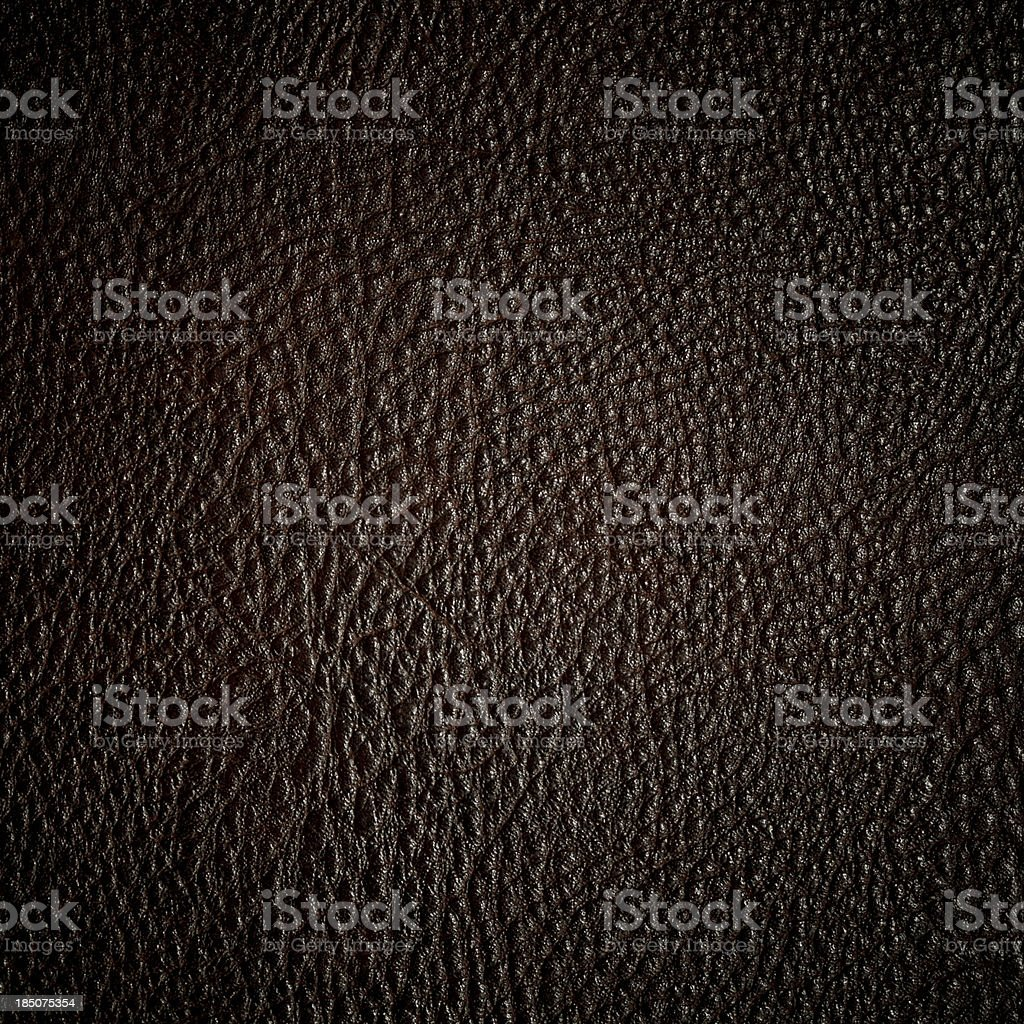 Dark leather texture background royalty-free stock photo
