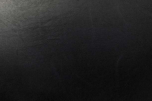 De cuero oscuro textura - foto de stock