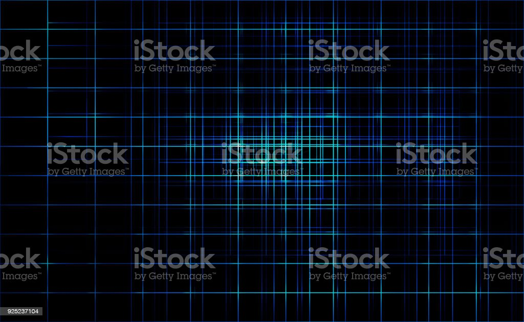 Dark line blue color light abstract technology background stock photo