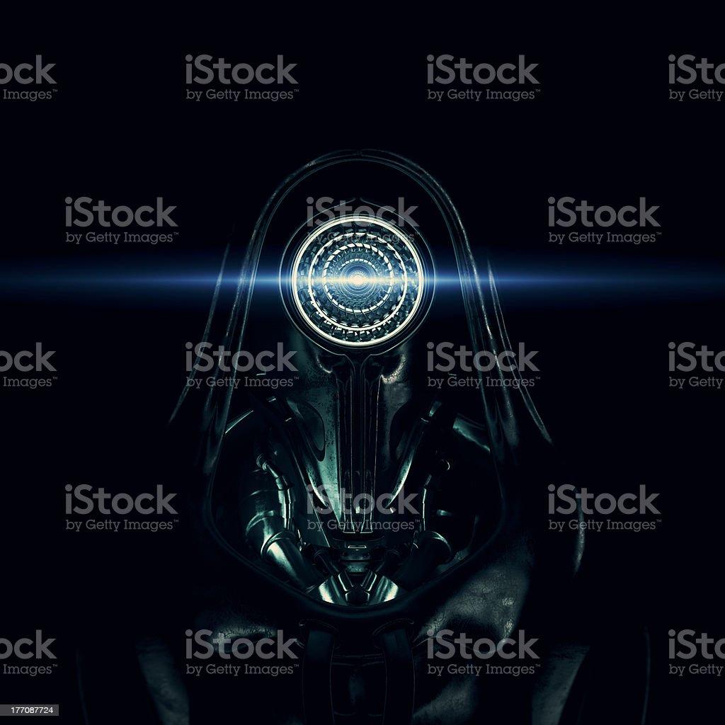 Dark lord royalty-free stock photo