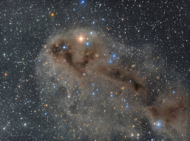 Dunkle Nebel im Sternbild Kepheus