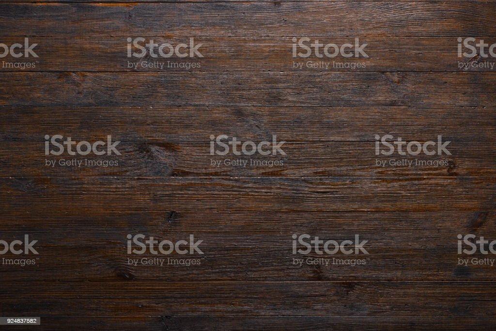 Des planches de bois anciens sombres tableau texture photo libre de droits