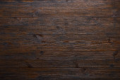 Dark old wooden planks table texture