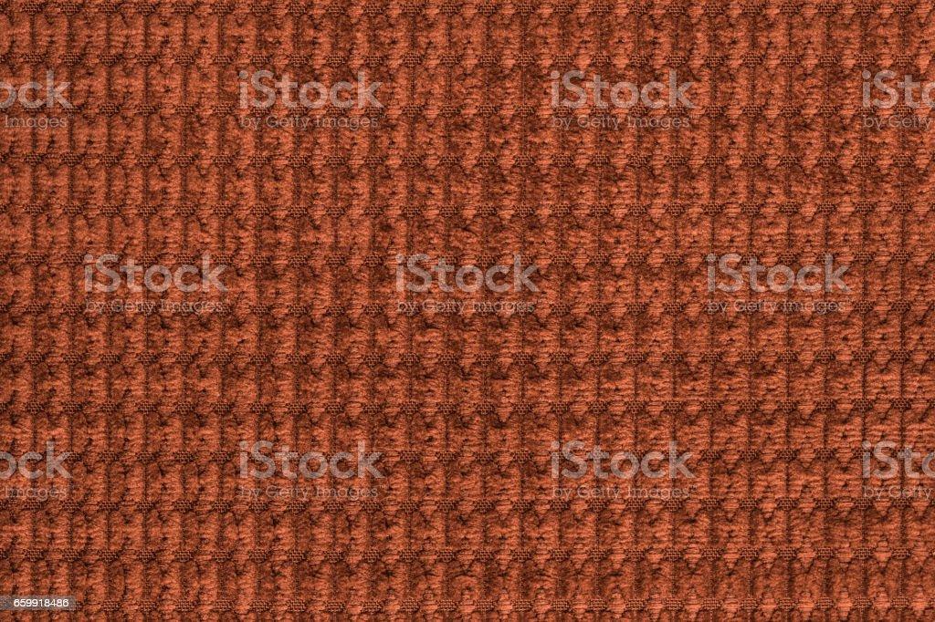 Carta Da Parati Pelosa Rosa : Dark orange background from soft fleecy fabric close up texture of