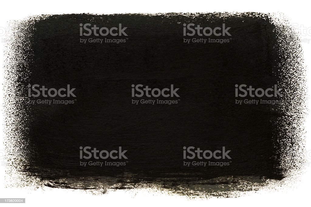 Dark painted stain stock photo