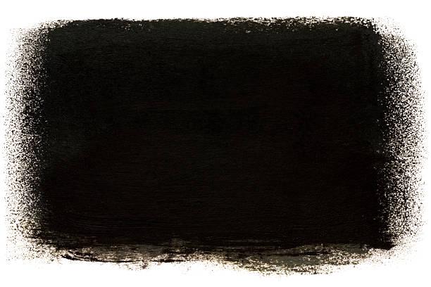 Dark painted stain stock photo