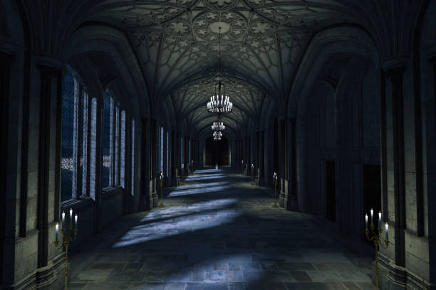 Dark palace hallway with lit candles and moonlight shining through picture id989972830?b=1&k=6&m=989972830&s=612x612&w=0&h=jpq7226sdeqjr7a0vudirgisrptbnys5g0pes8mvrr8=