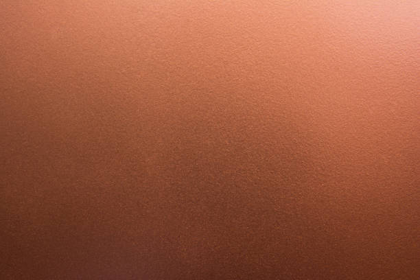 Dark pale bronze texture background. Copper texture stock photo