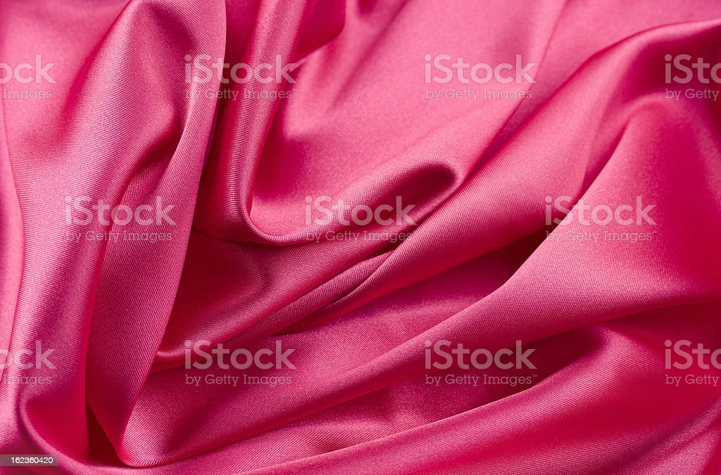 Dark Pink Satin royalty-free stock photo