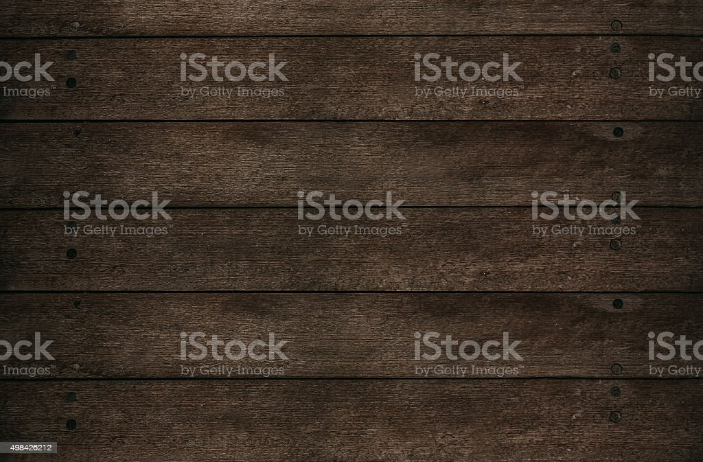 Dark plank wood textured backgrounds stock photo