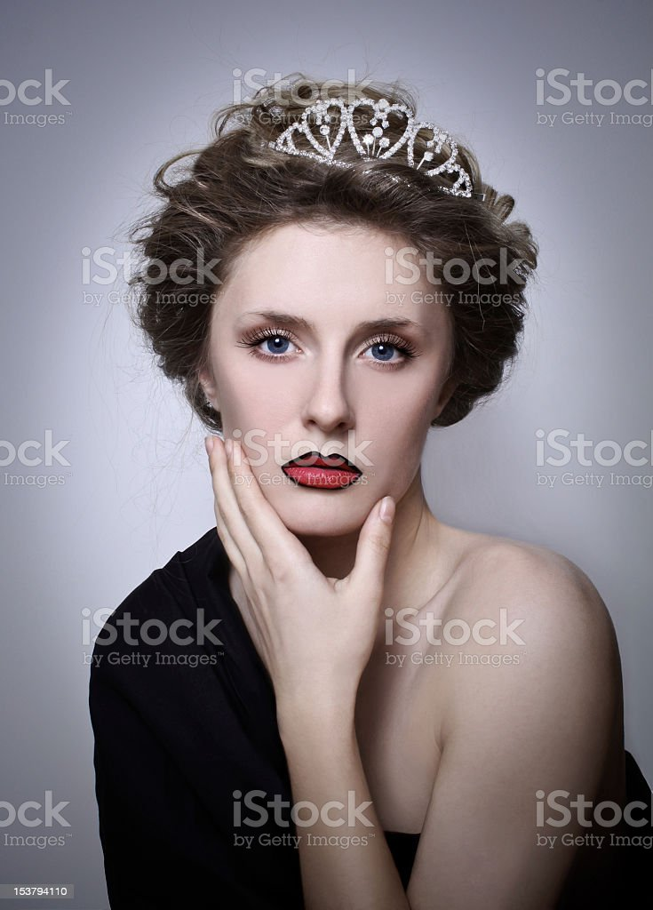 Dark Queen royalty-free stock photo