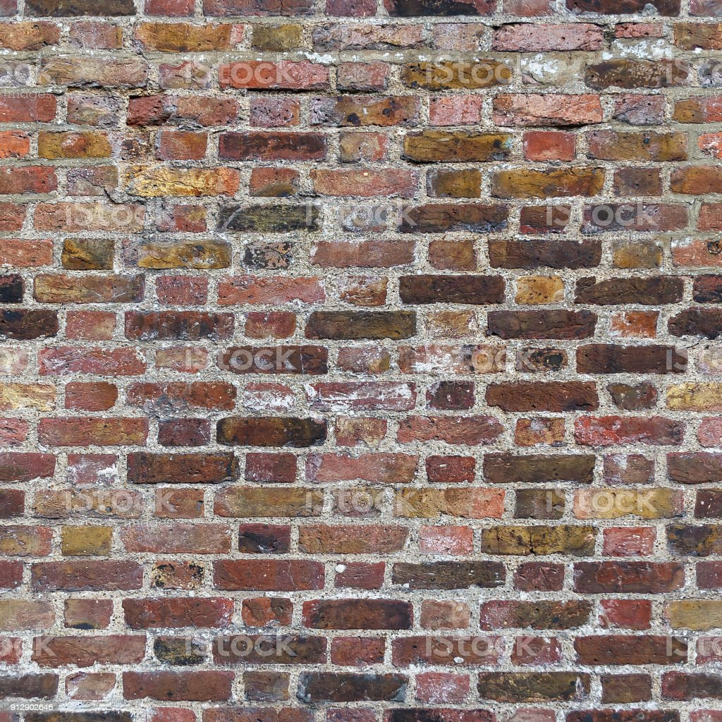 Dark Red Brick Wall Seamless Texture Royalty Free Stock Photo