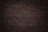 istock Dark Red brown linen canvas. The background image, texture. 1096054074