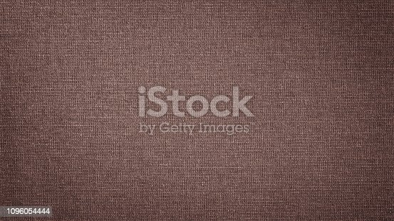 1148387720 istock photo Dark Red brown linen canvas. The background image, texture. 1096054444