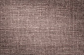 istock Dark Red brown linen canvas. The background image, texture. 1096403078