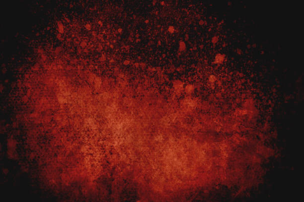 Dark red splatters on canvastexture, conceptual abstract background Old distressed grungy background or texture terrorism stock pictures, royalty-free photos & images