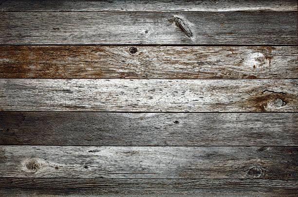 Dark Rustic Barn Wood Background Stock Photo