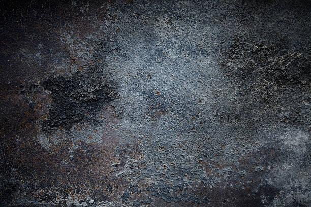 Dunkle rostigen Metall-Oberfläche – Foto