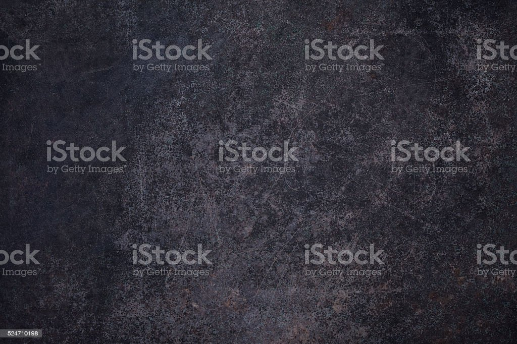 Dark rusty metal surface stock photo