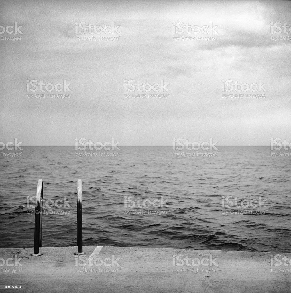 dark sea royalty-free stock photo