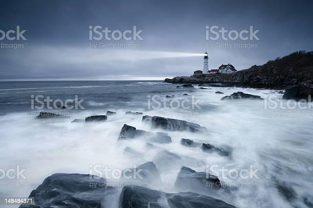 Photo of Dark seas lighthouse