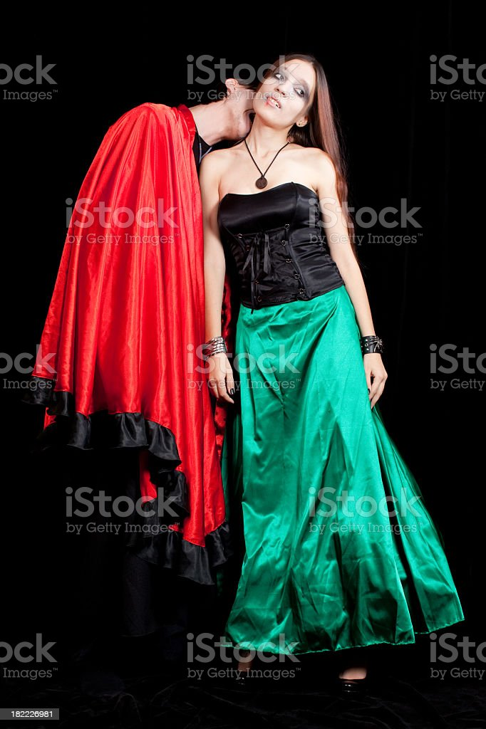 Dark side of the love royalty-free stock photo