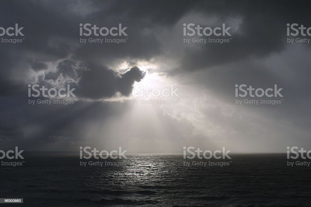 Dark Skies royalty-free stock photo