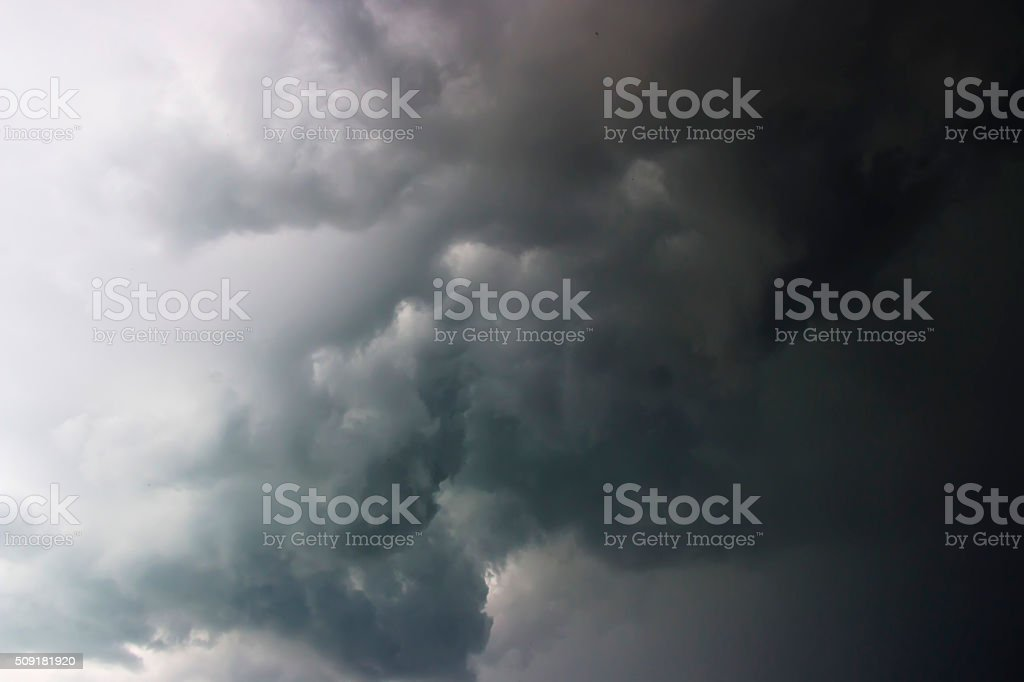 Dark sky background stock photo